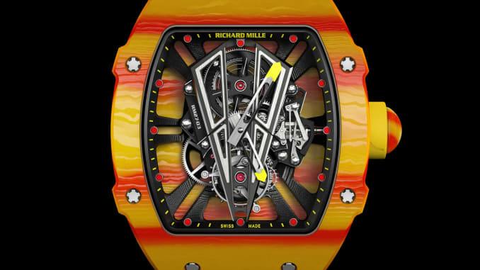 Tennis Pro Rafa Nadal S New 725 000 Richard Mille Watch