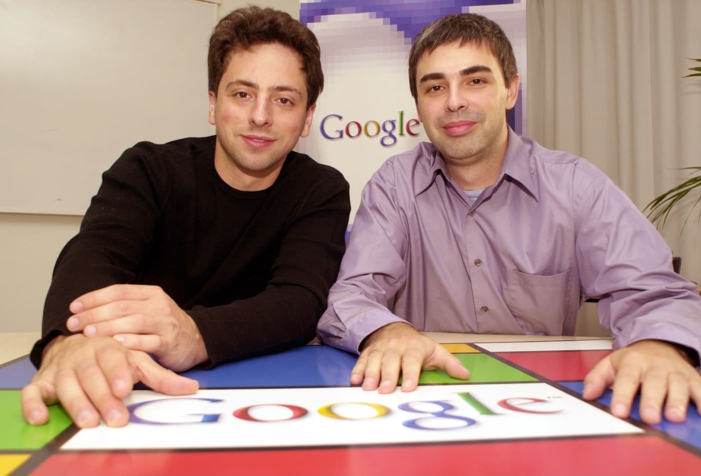 Image result for sergey brin larry page