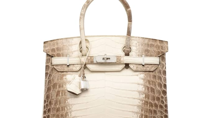 This $379,261 Hermes Birkin handbag is the most expensive ever sold