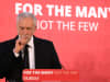 Labour party leader Jeremy Corbyn gives a speech at the County Hotel on June 4, 2017 in Carlisle, England. C