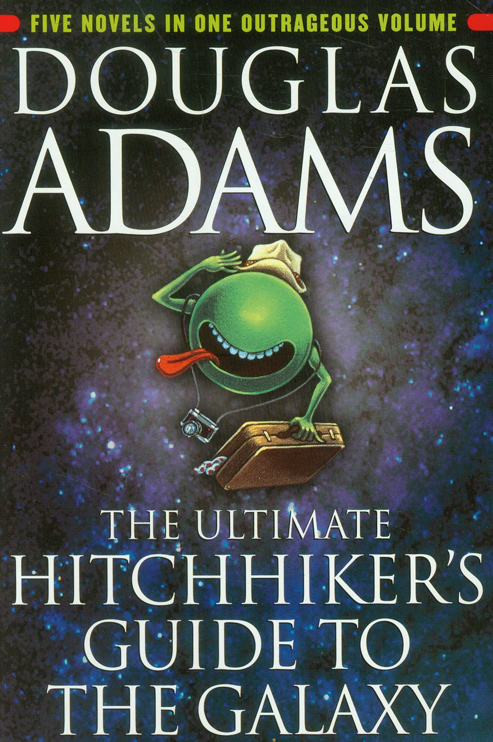 Douglas Adams Hitchikers Guide cover