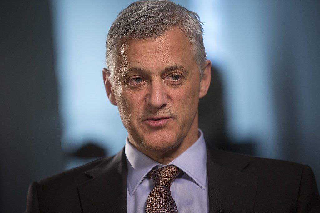Standard Chartered CEO says a recession next year 'looks less likely today'