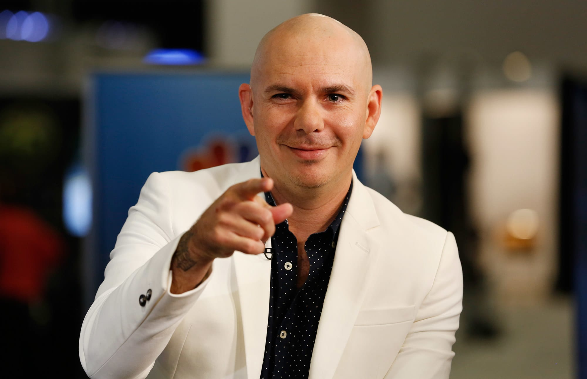 Pitbull at the eMerge Americas conference in Miami on June 12, 2017.