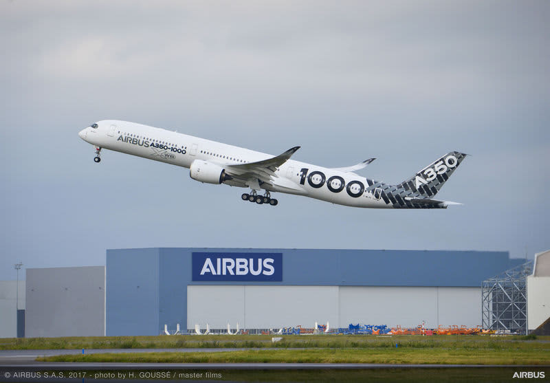 Airbus releases photos of automatic take-offs
