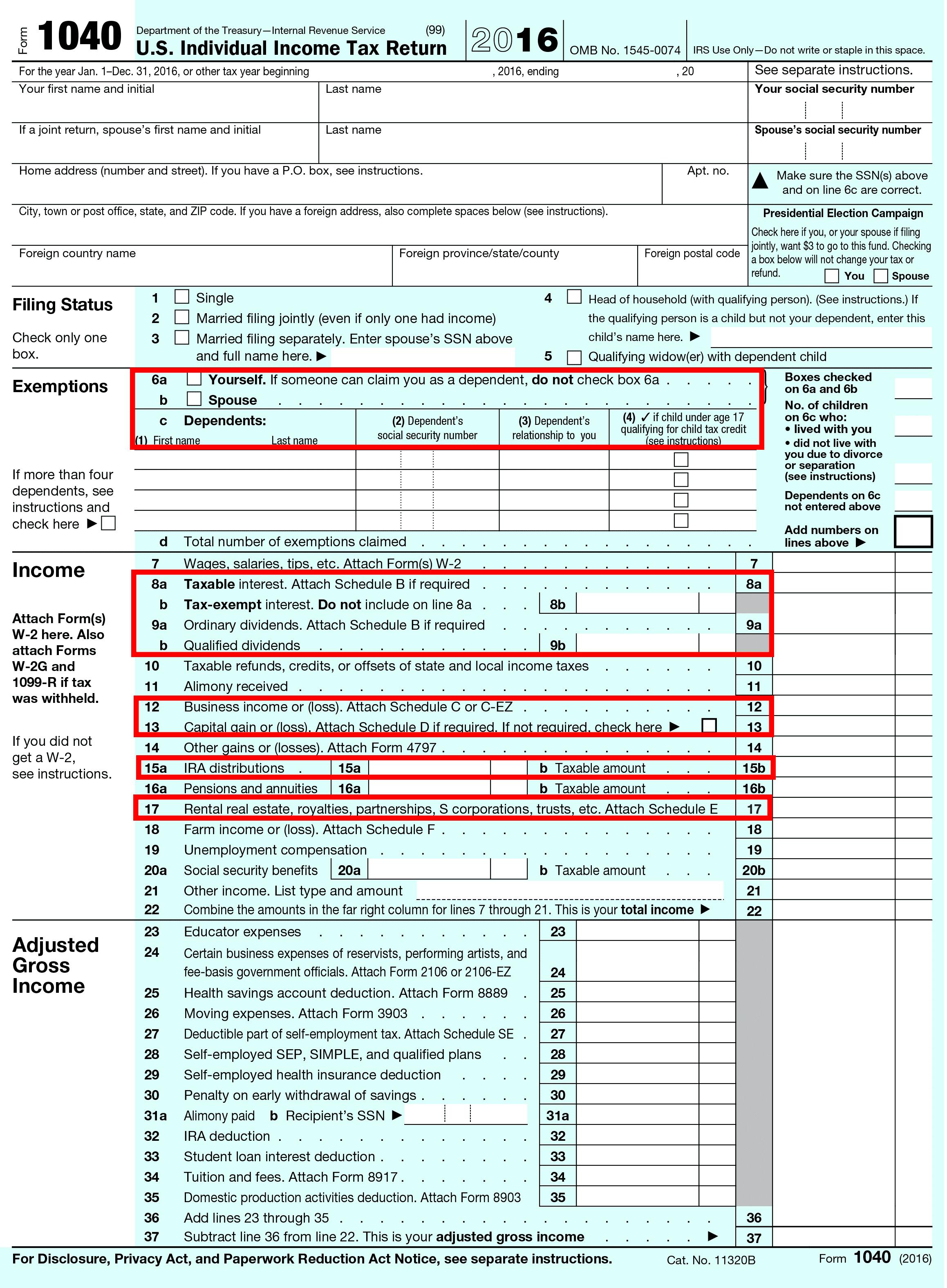 Blank tax return mercado 170615