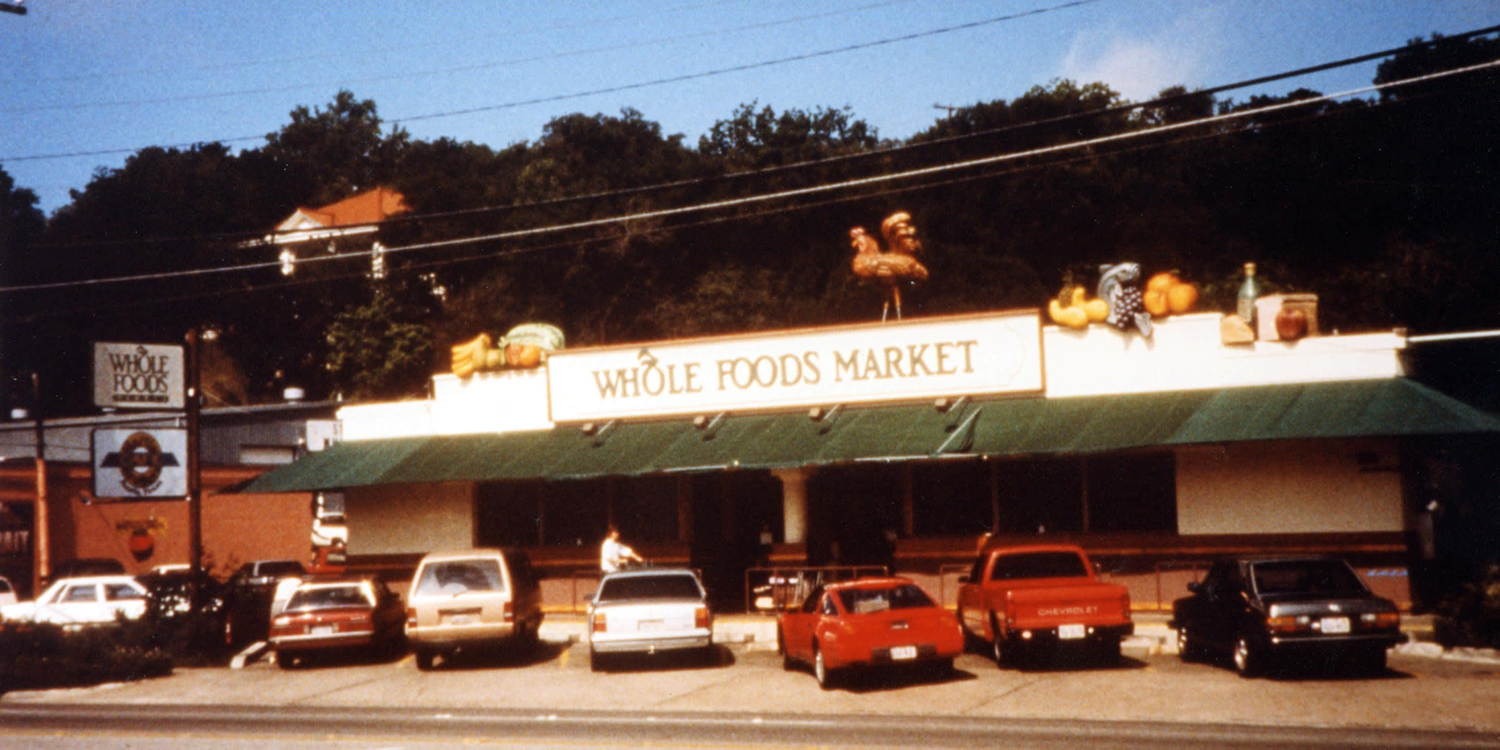 How John Mackey started Whole Foods, which Amazon bought for