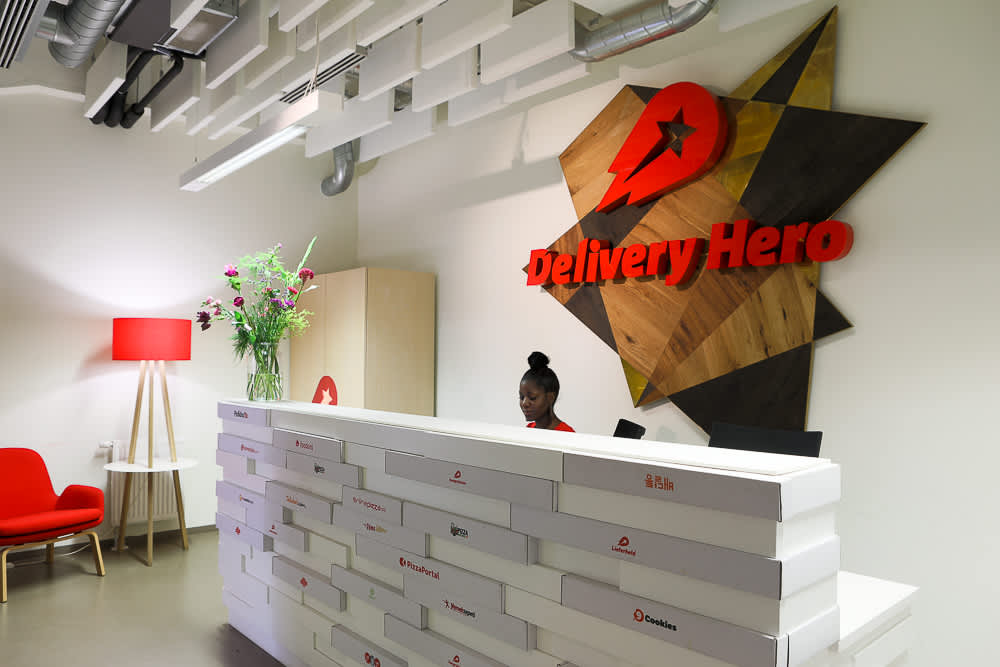 Delivery Hero second quarter orders surge during lockdowns