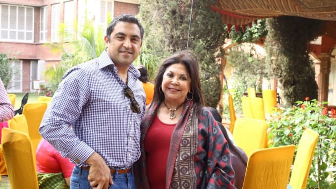 Ritu Kumar The First Lady Of Indian Fashion Lets Her Son Blaze The Company S Path