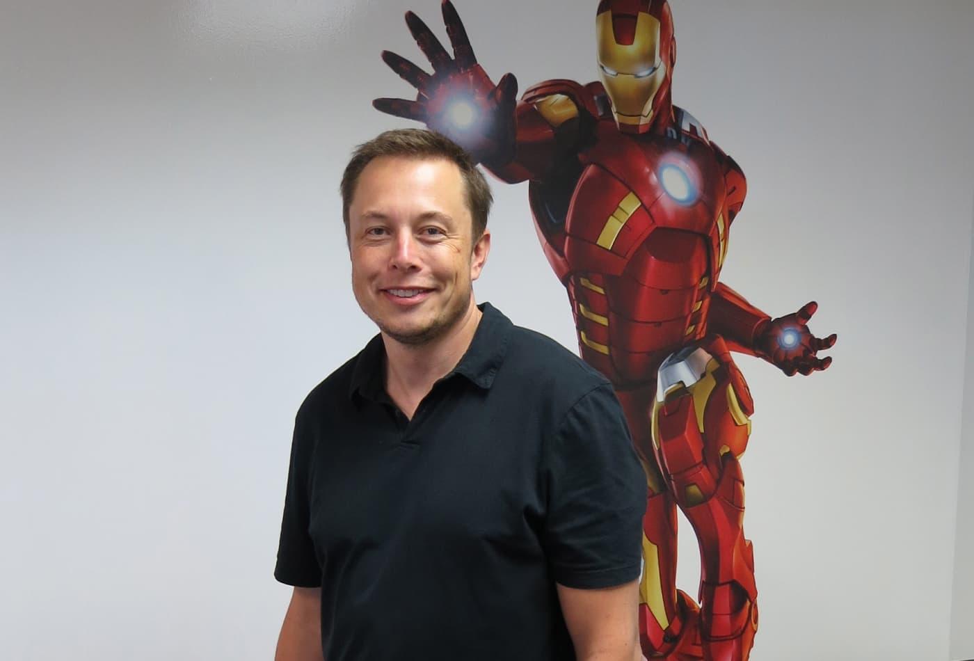 Elon Musk Iron Man