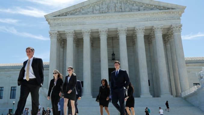 On the Supreme Court's docket this term: Workplace disputes