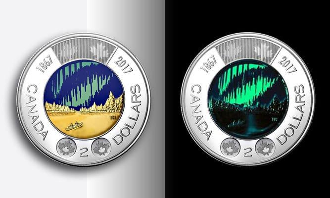 Canada 2018 Armistice Colourized Toonie BU From Mint Roll!!