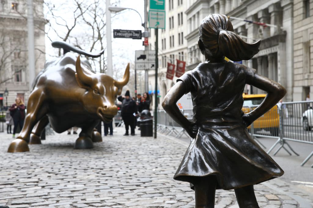 「fearless girl」の画像検索結果