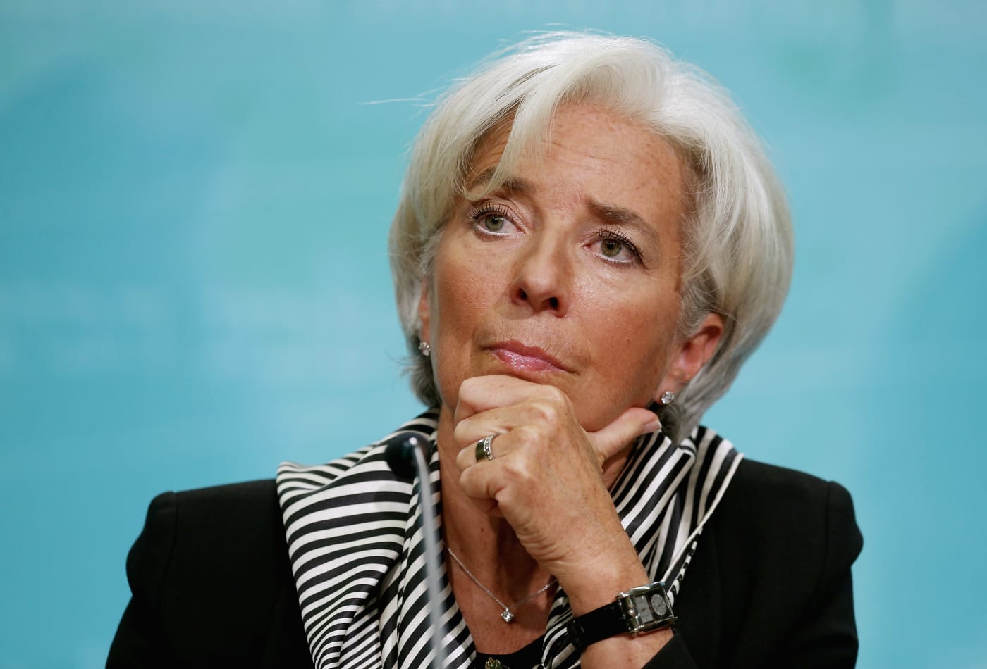 How IMF chief Christine Lagarde dealt with rejection at a
