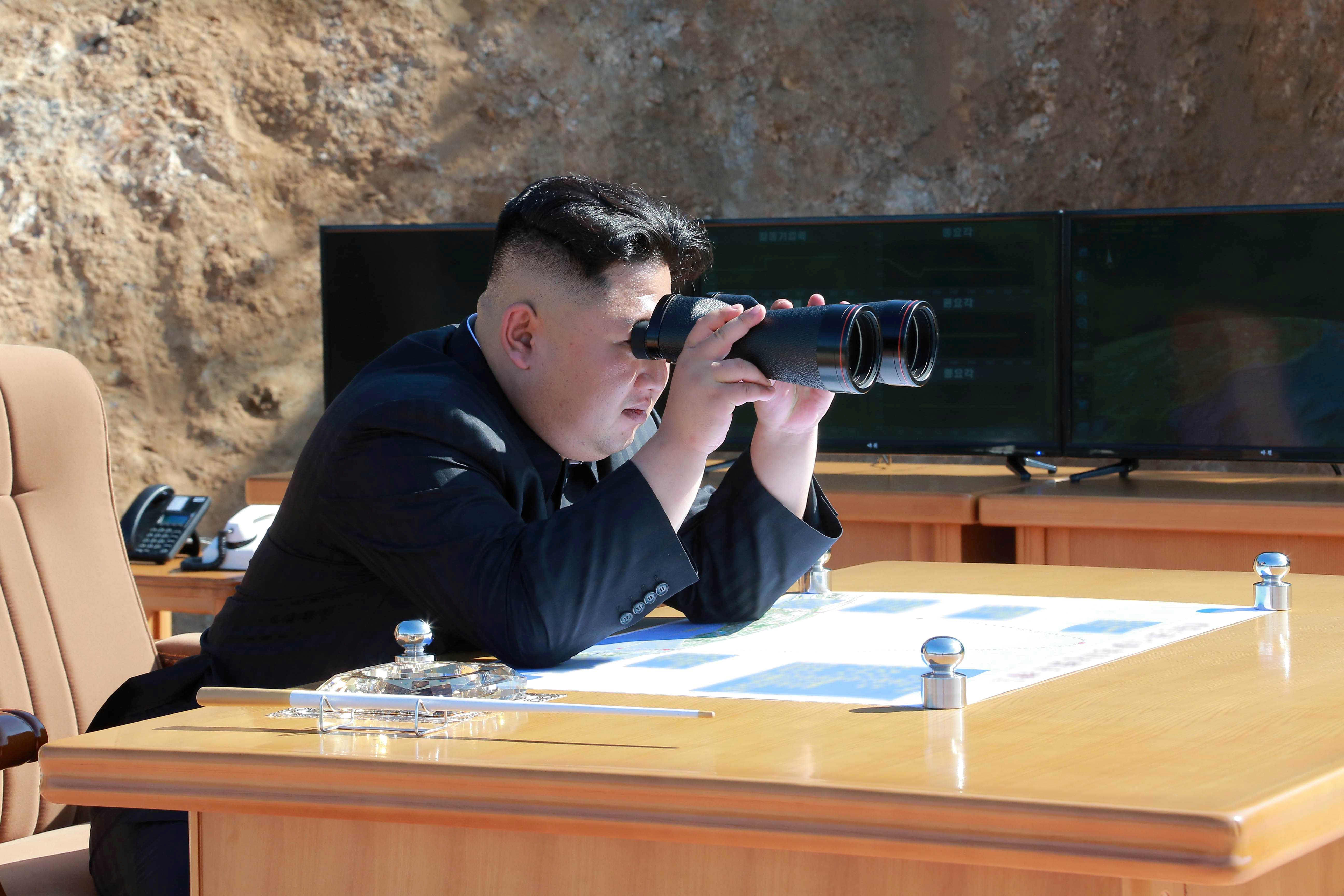 North Korea says it has test-fired a new tactical guided weapon