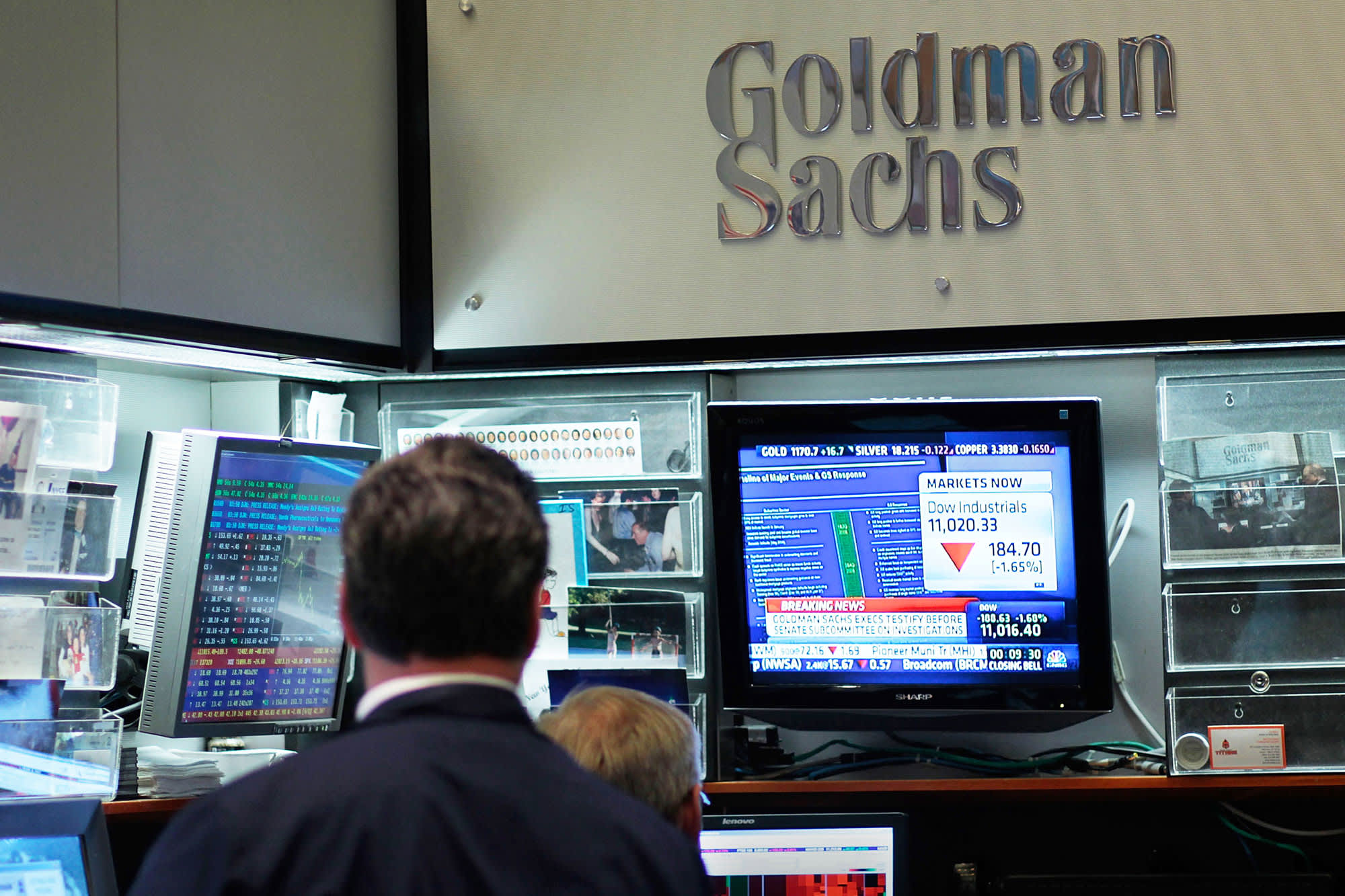 Goldman adds 509 to its ranks of managing directors