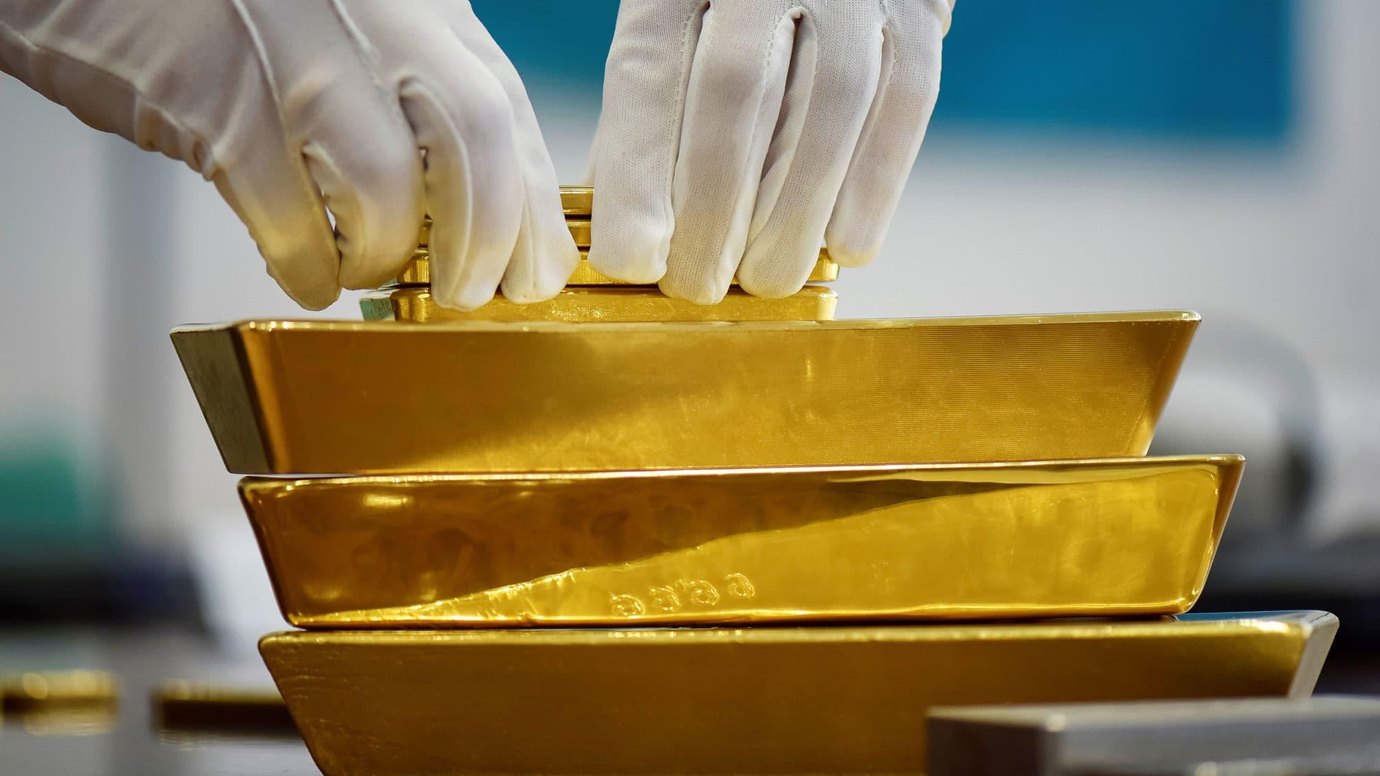 RT: Gold Bars Kazakhstan 160930