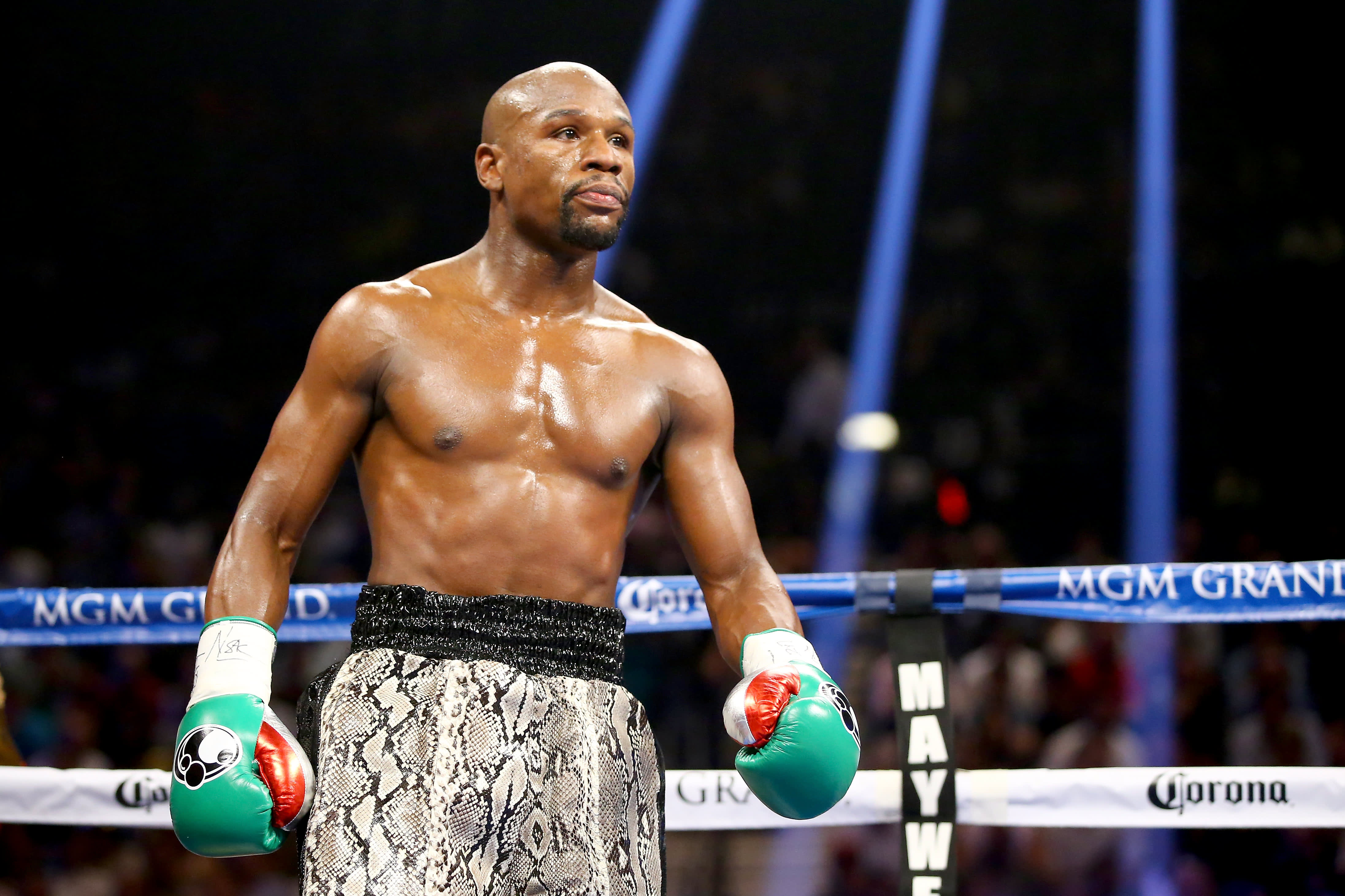 Here's who first saw Floyd Mayweather's potential