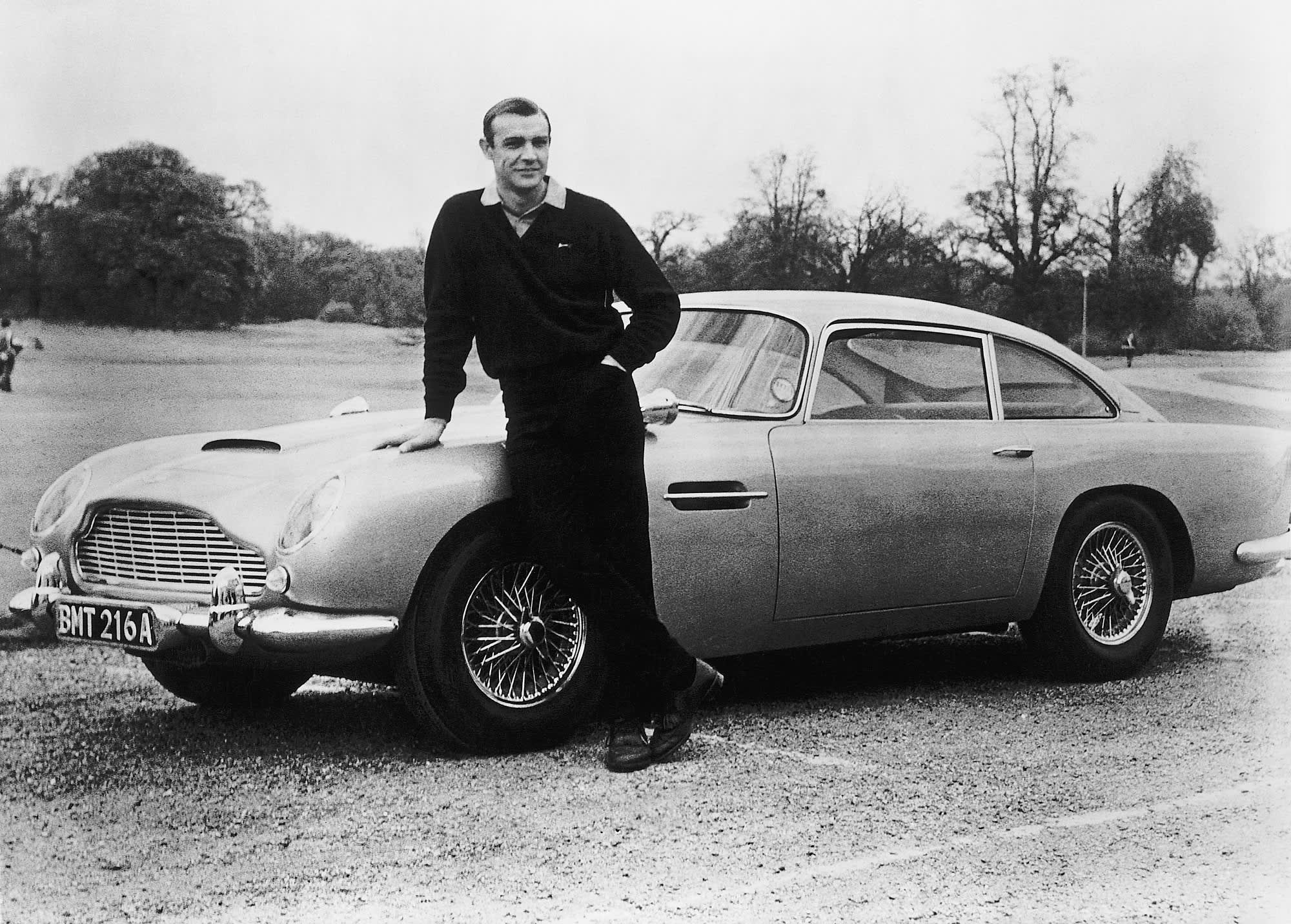 James Bond S Aston Martin Db5 Sells For 6 4 Million At Pebble Beach