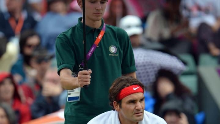 Roger Federer has won $116 million—here's what the ball kids