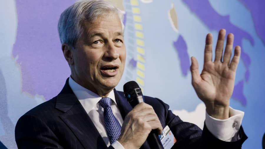 Jamie Dimon, giám đốc điều hành của JPMorgan Chase & Co