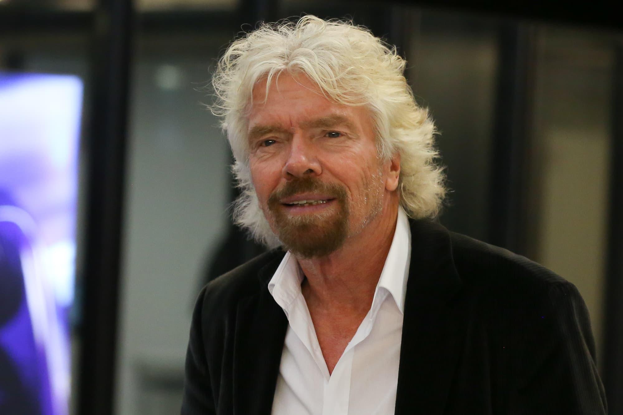 Billionaire Richard Branson's top tips for success