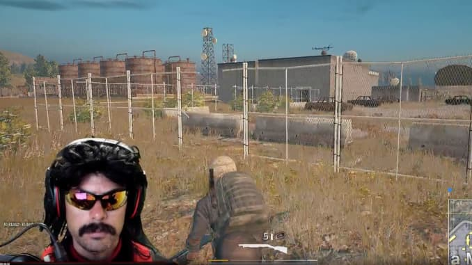Online fight between 'Dr  DisRespect' and PlayerUnknown's