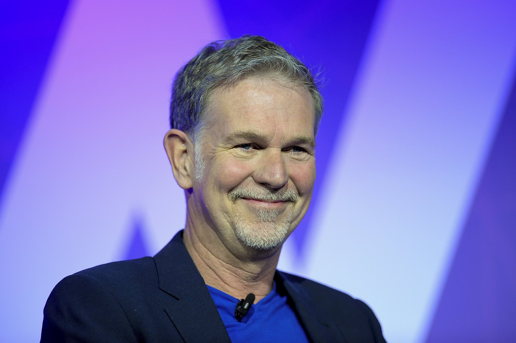 Netflix CEO says the 'streaming wars' are good for business