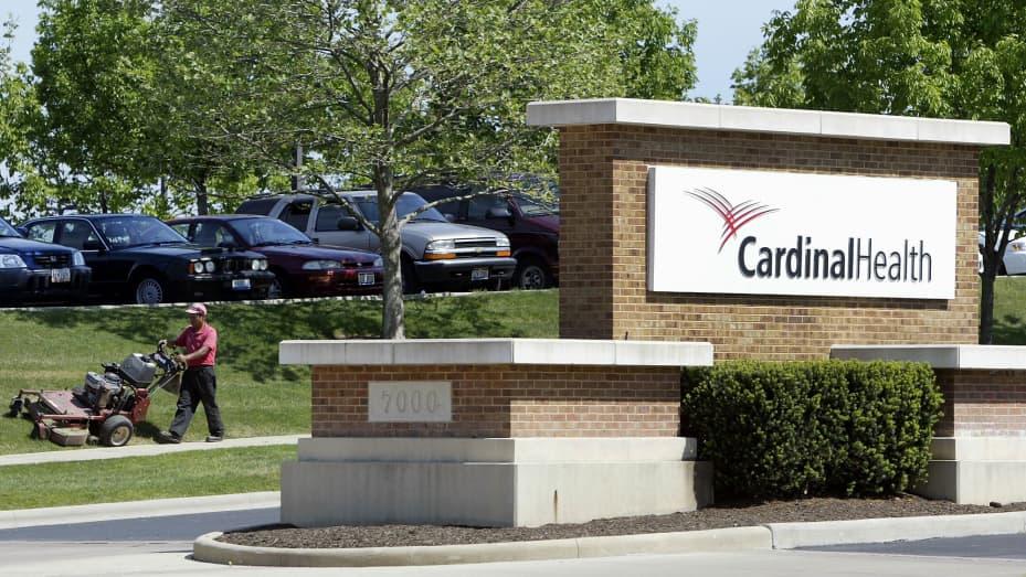 The headquarters of Cardinal Health in Dublin, Ohio.