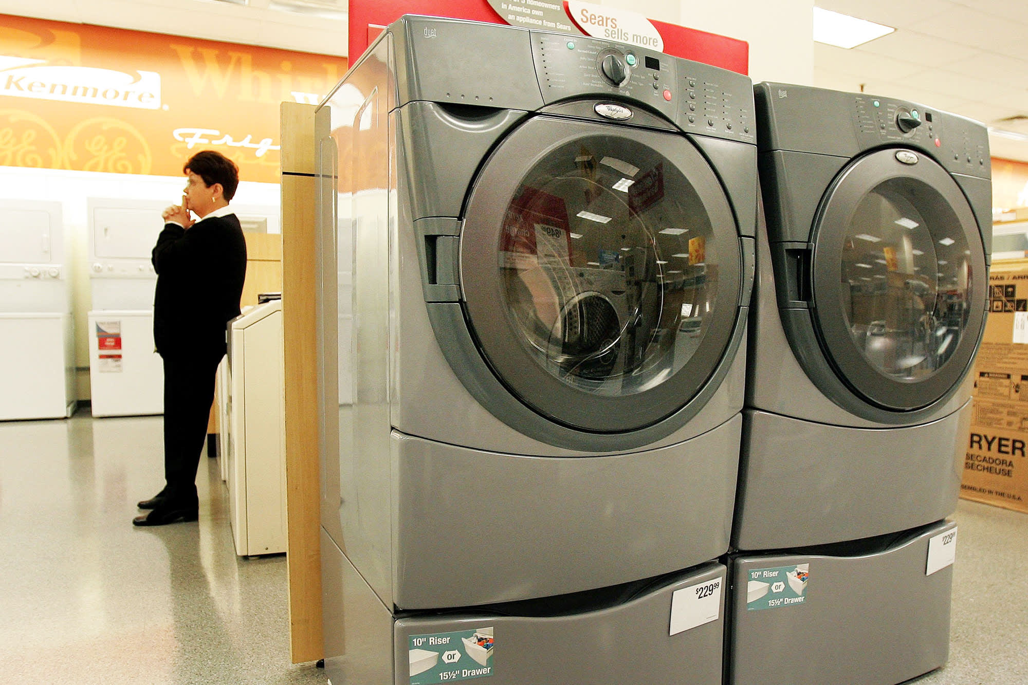 What happens to that Kenmore warranty with Sears in