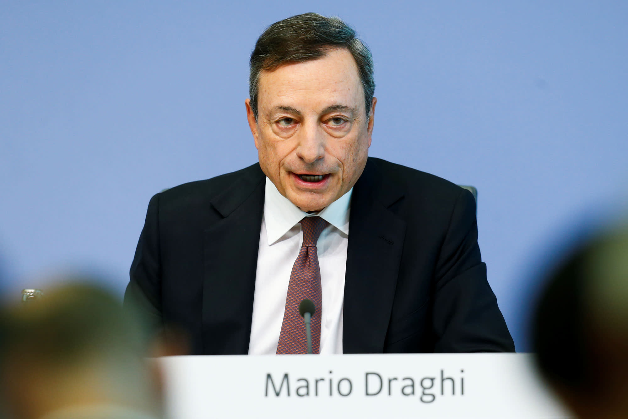 ECB's Draghi hits back at Trump: 'We don't target the exchange rate'