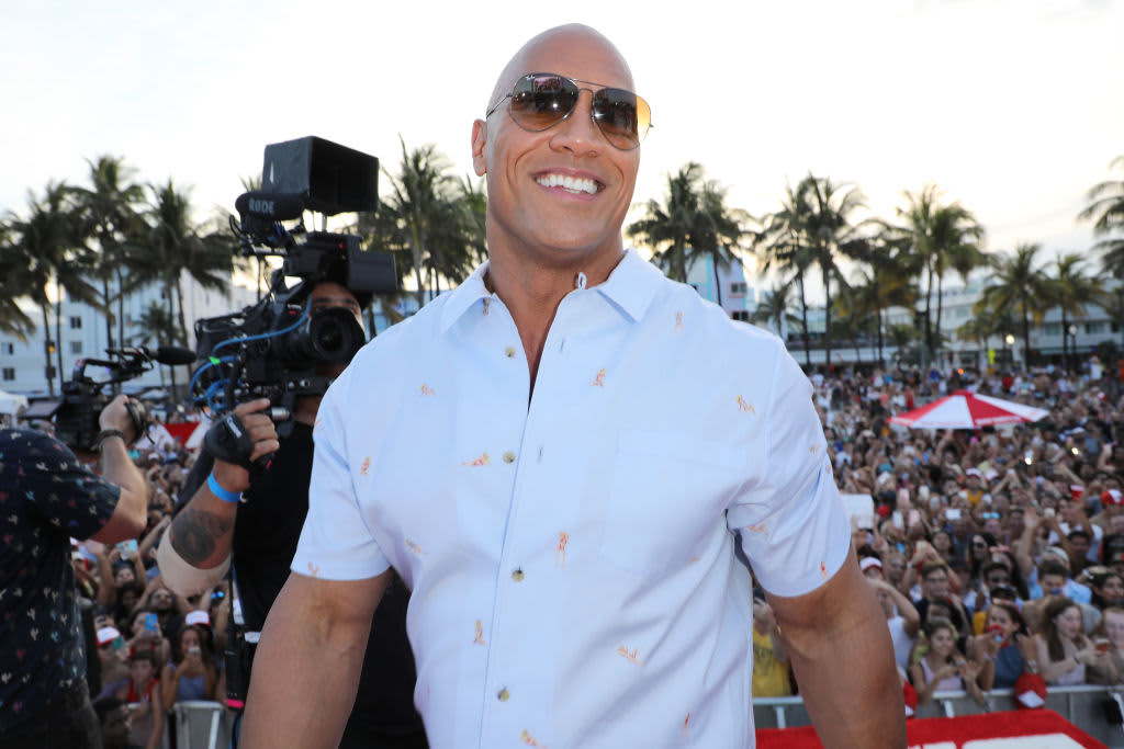 Photos Dwayne The Rock Johnson Posts Cheat Meals On Instagram