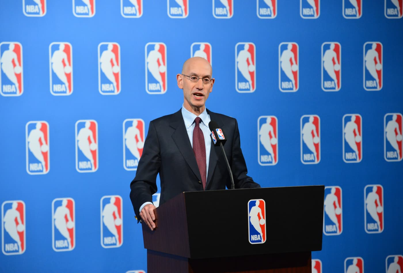 NBA will lose hundreds of millions of dollars due to rift with China, commissioner says