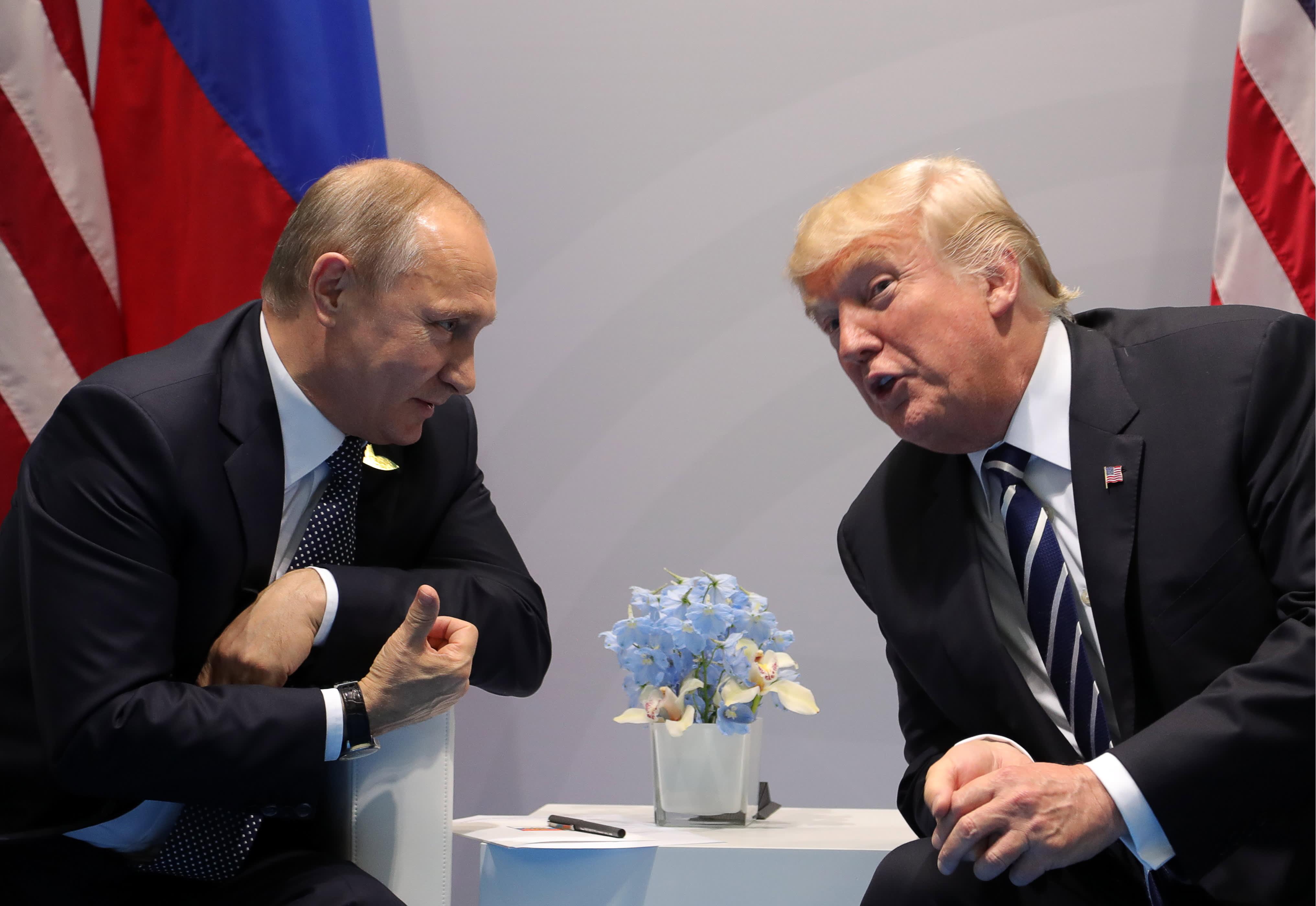 Trump says he will meet Russia's Putin at G-20 summit next week