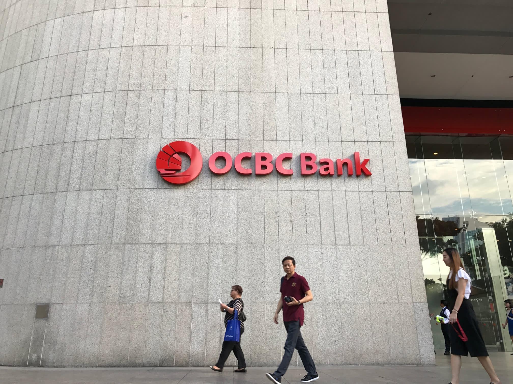 Singapore's OCBC quarterly profit falls, but wealth management fees grow
