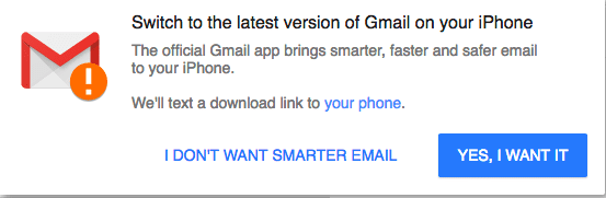 ONE TIME gmail mktg