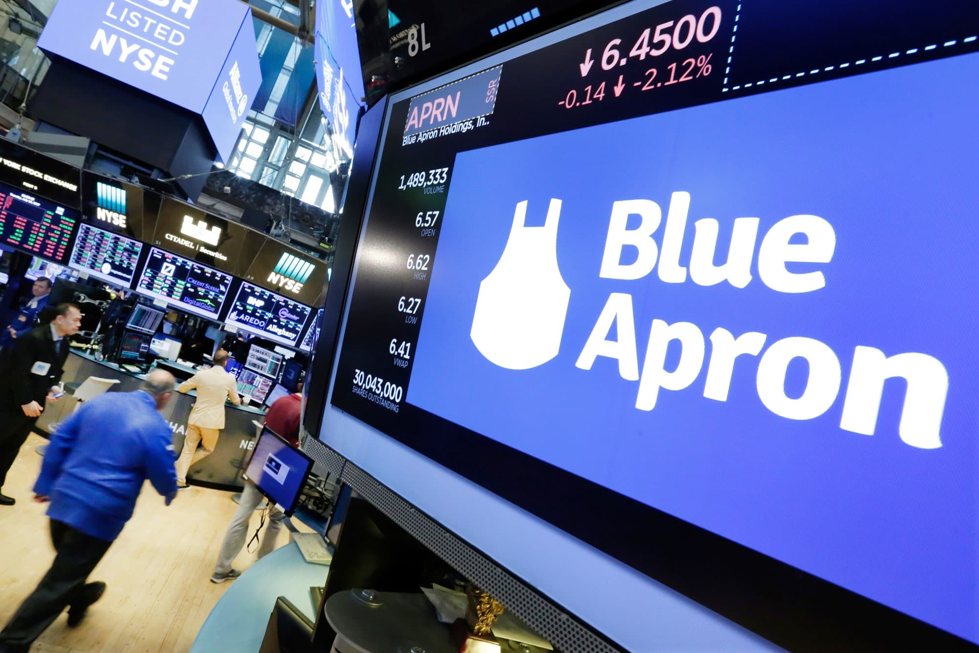Blue Apron stock surges after Barclays sees 'stabilization point'