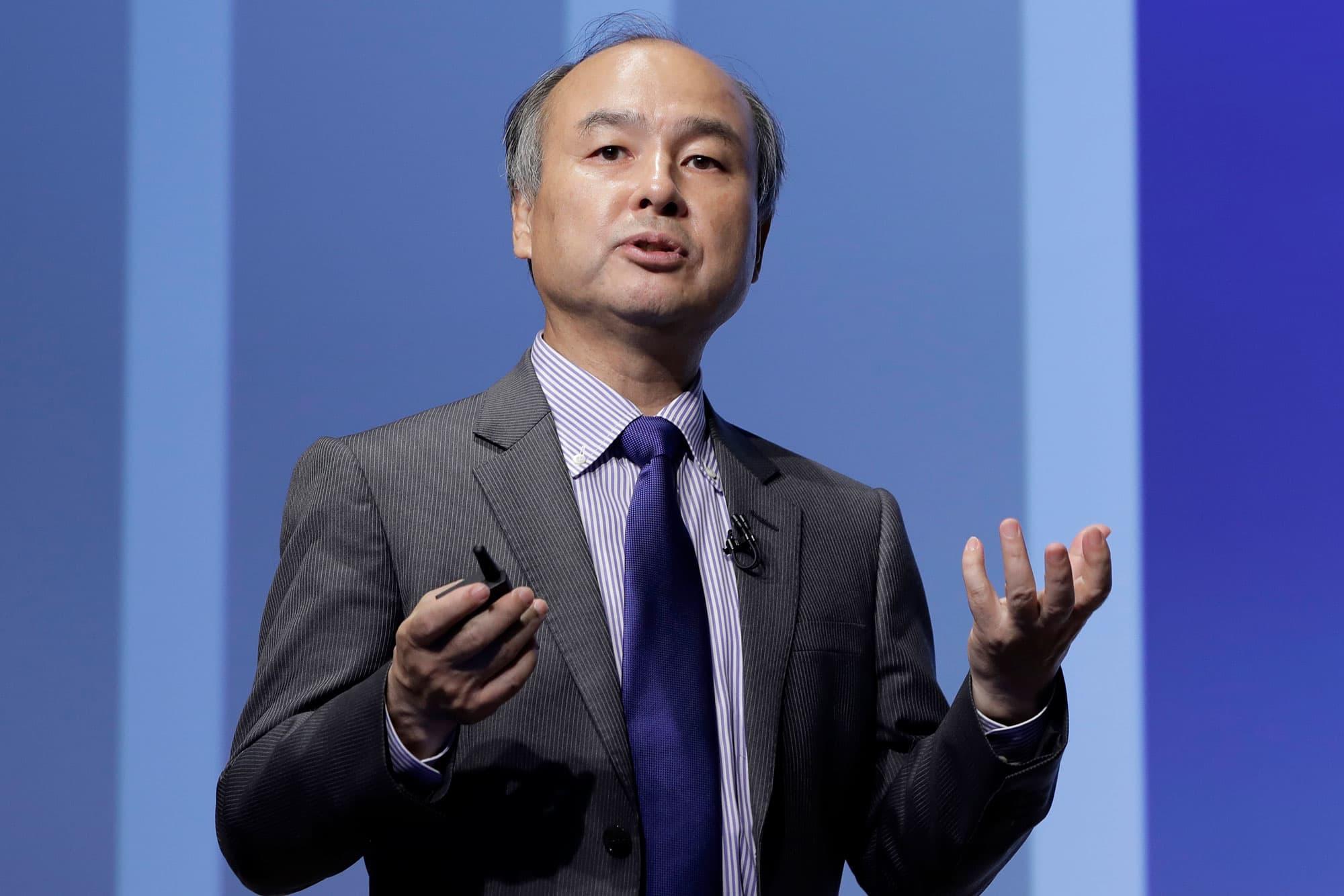 Softbank's Masayoshi Son on Uber and Lyft investments