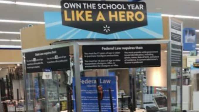 Walmart: Back-to-school gun display photo on Twitter was prank