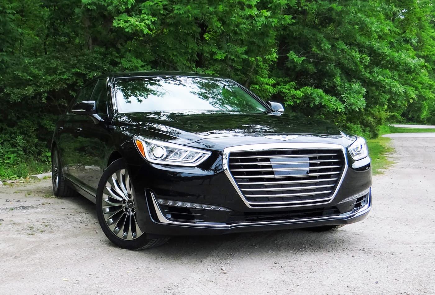 The 2017 Genesis G90 Is A Luxury Sedan At An Incredible Bargain