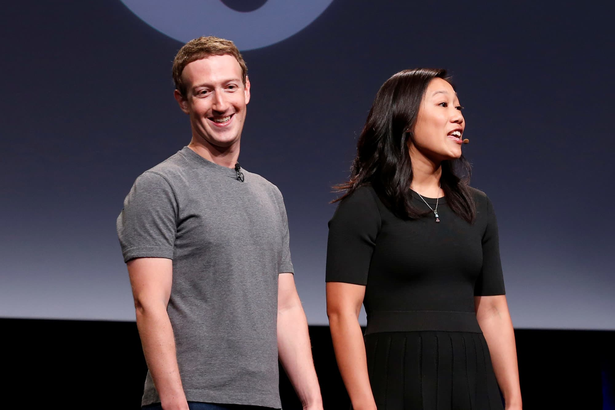 Mark Zuckerberg to his newborn daughter: 'We're optimists'