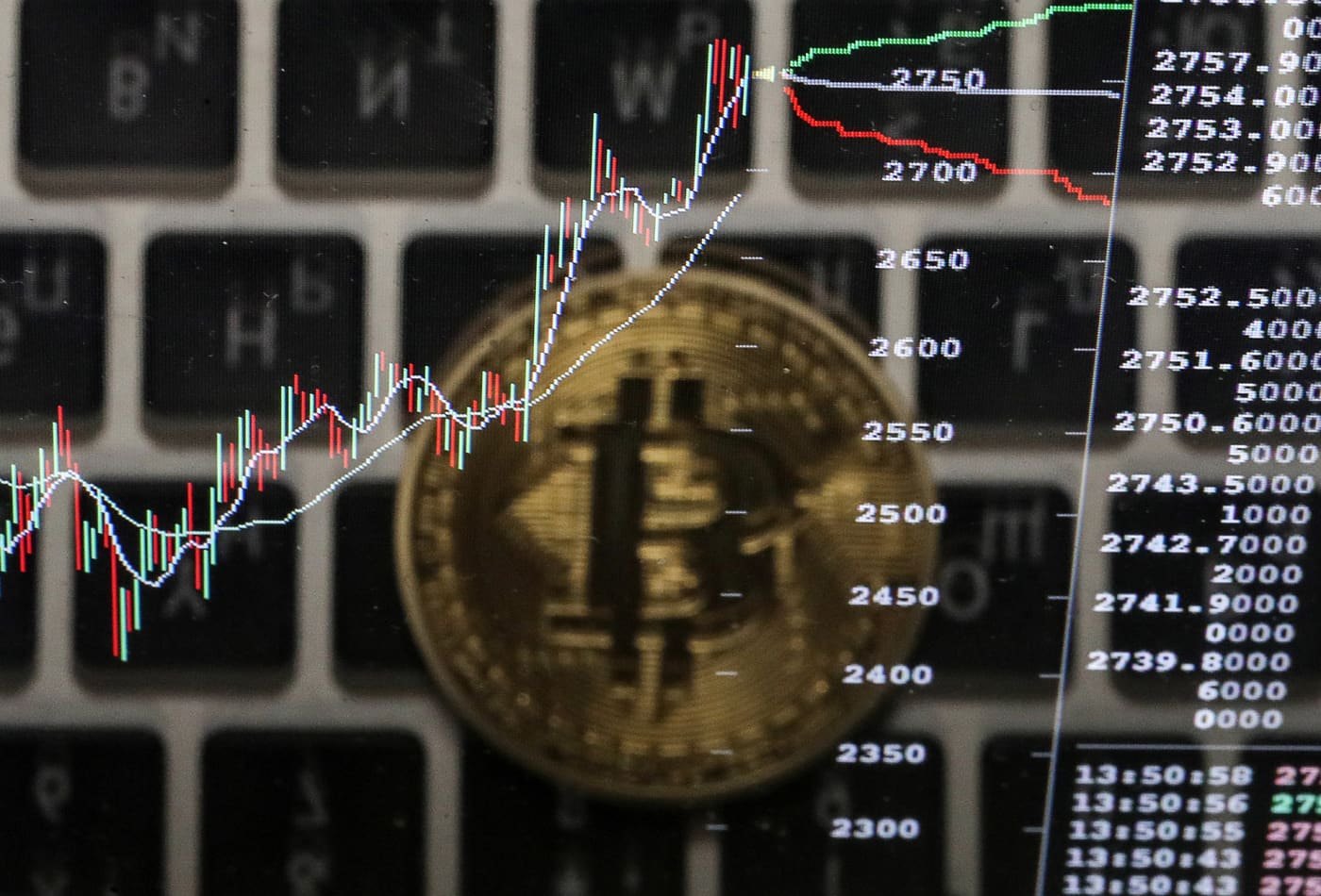 Bitcoin surges to record above $6,400 after CME announces launch of futures for digital currency