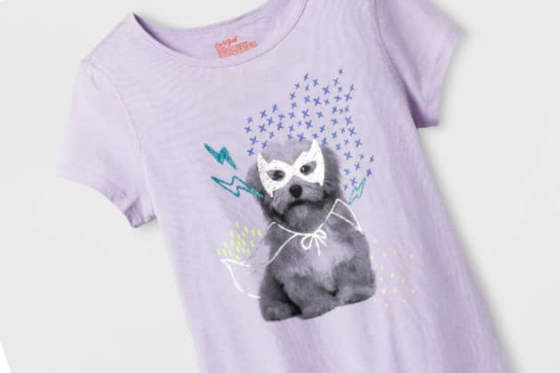 c9efebe0 ONE TIME USE: Target Girls' Sensory Friendly Graphic Short Sleeve T-Shirt