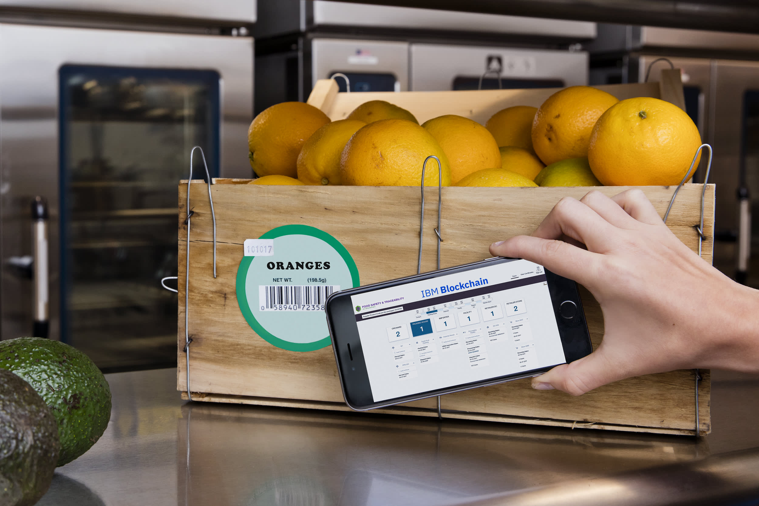 IBM partners with Nestle, Unilever and other food giants to trace food contamination with blockchain
