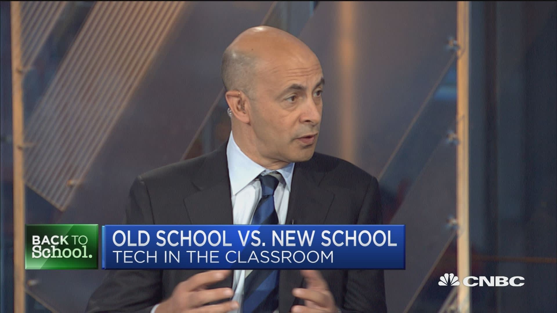 McGraw-Hill CEO: A I  in the classroom is here