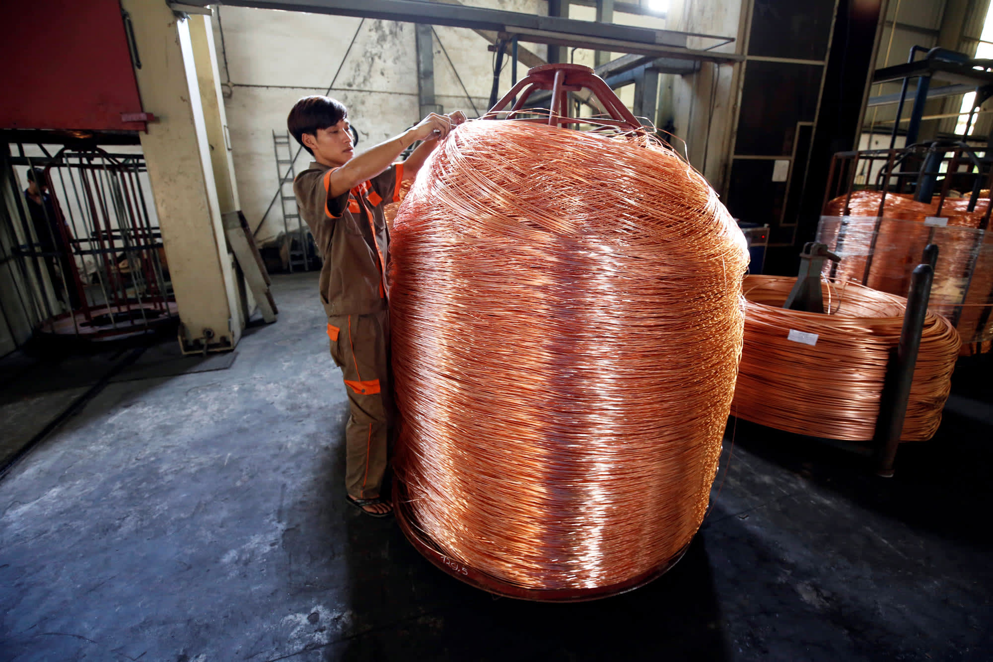 Copper is 'the new oil' and low inventories could push it to ,000 per ton, analysts say