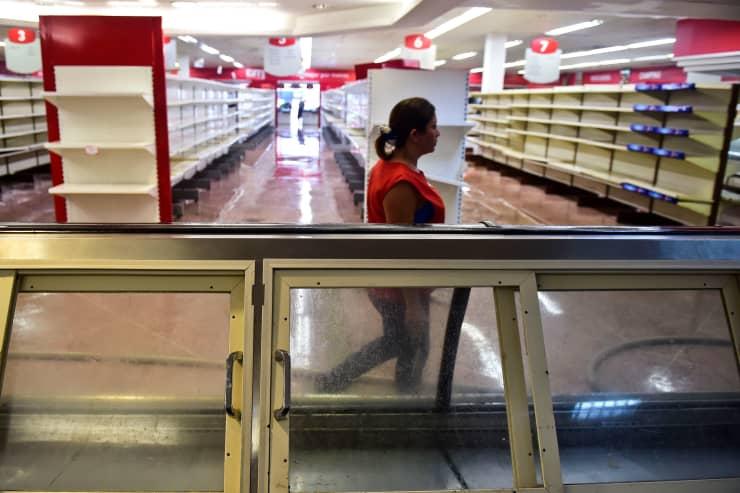 Premium: Venezuela store after looting 170505