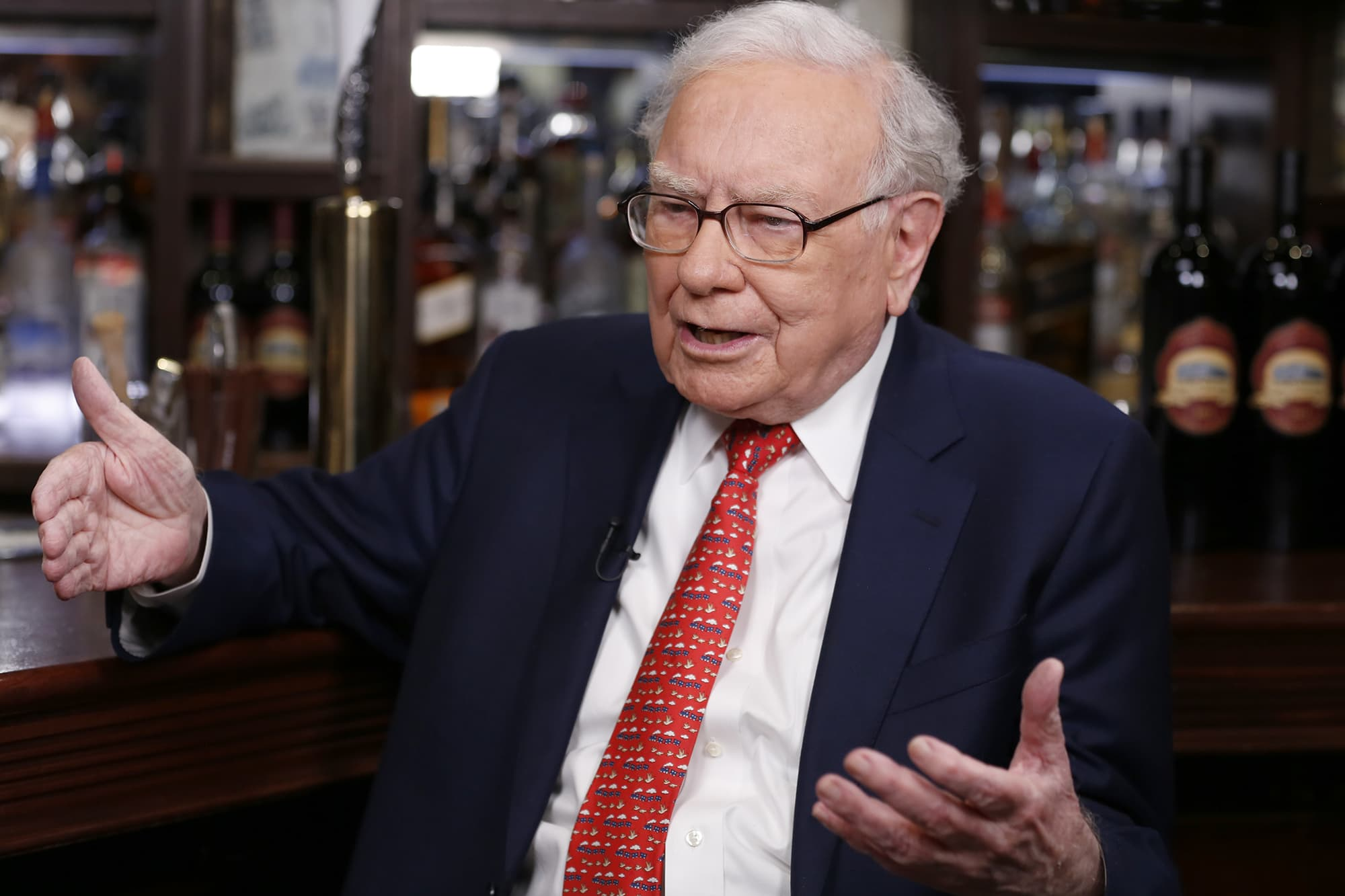 Here are the stocks Warren Buffett says he's betting on for the long run