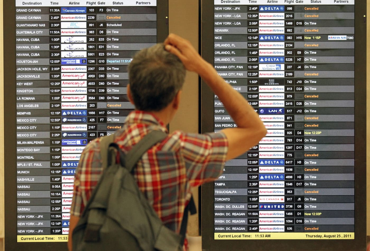 Best and worst airports for on-time summer travel