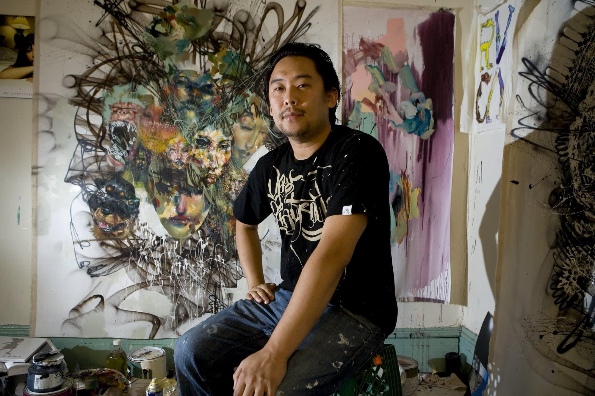 How Facebook graffiti artist David Choe earned $200 million