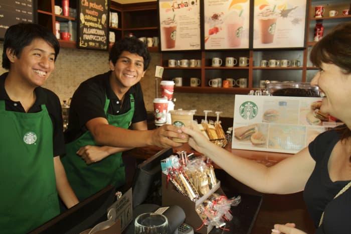 Premium: Starbucks employees coffee 20120114